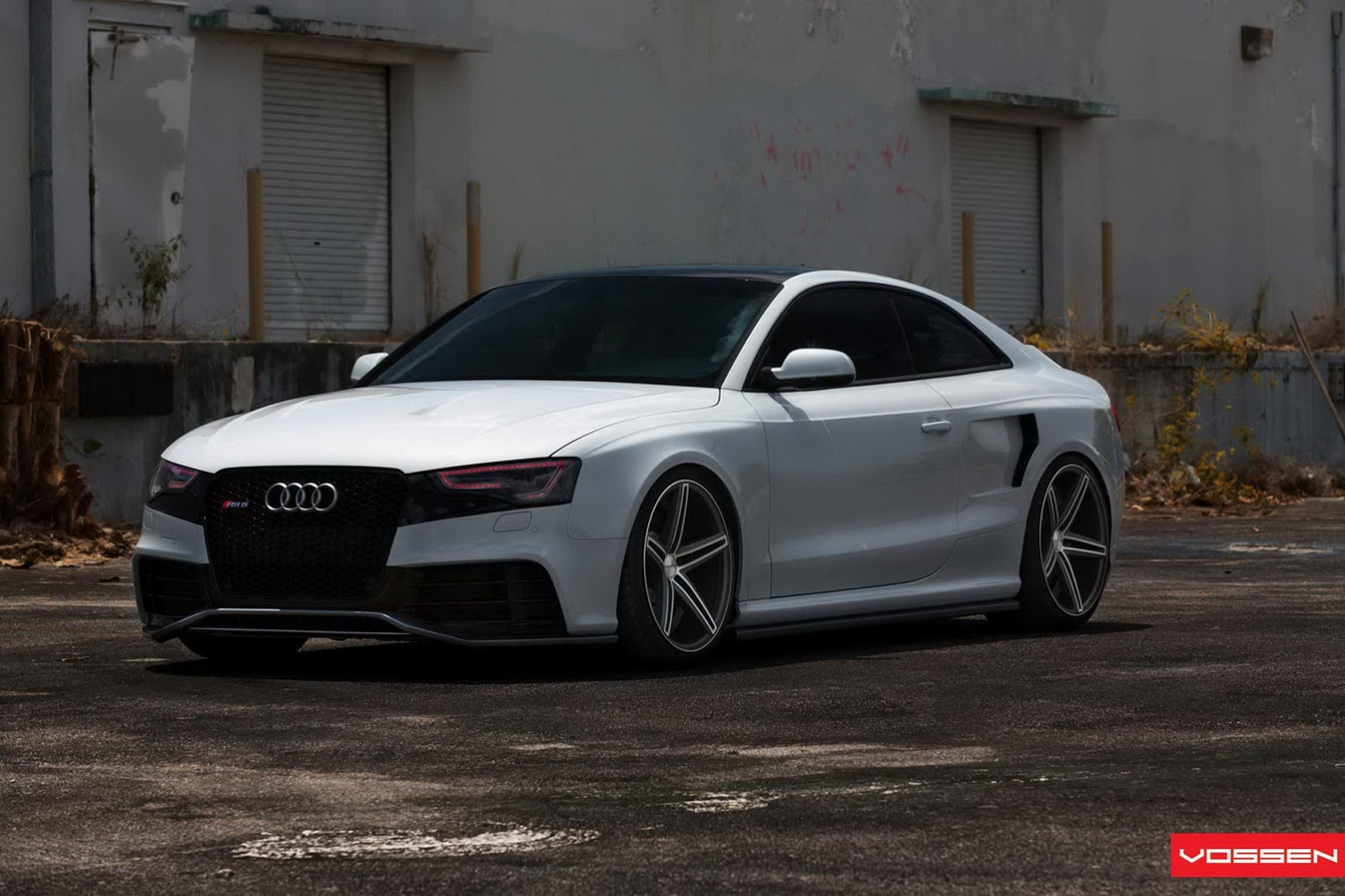 all tuning cars nz audi rs5 2013 by oss designs and vossen video. Black Bedroom Furniture Sets. Home Design Ideas