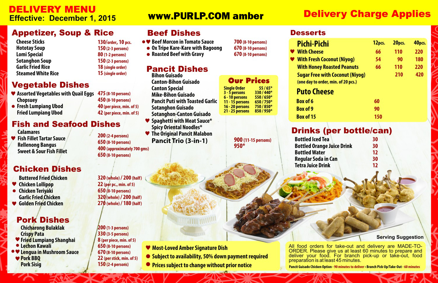 menu contact number amber golden chain of restaurants