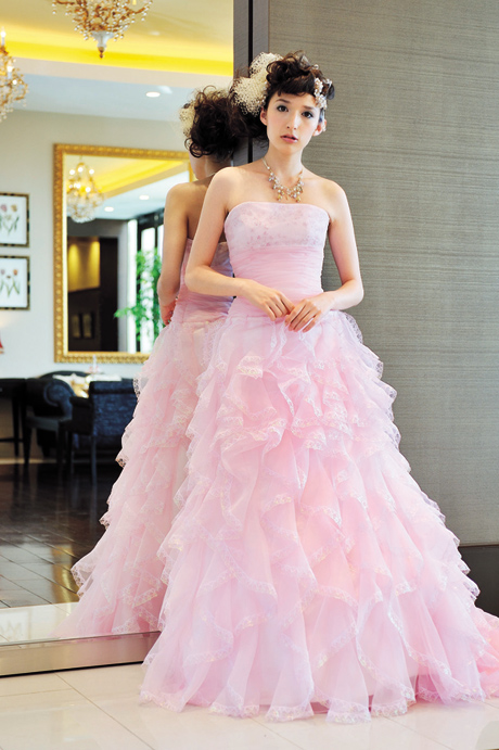 bright colored wedding dresses bridesmaid dresses