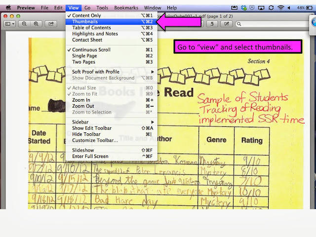 how to put scanned documents into one pdf mac