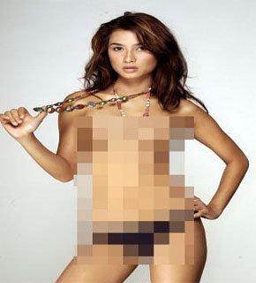 Foto Topless Uli Auliani