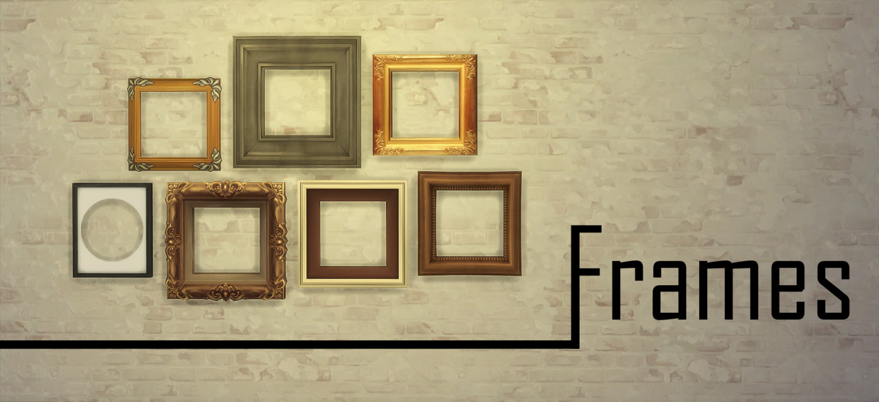 My Sims 4 Blog: Painting Frames by JoolsSimming