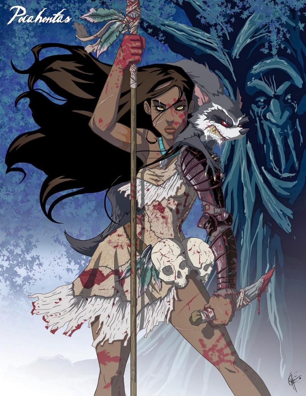 10-Pocahontas-Jeffrey-Thomas-Twisted-Princess-www-designstack-co
