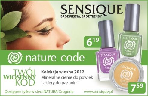 Zapowiedź: Sensique Natural Code + Projekt Rainbow