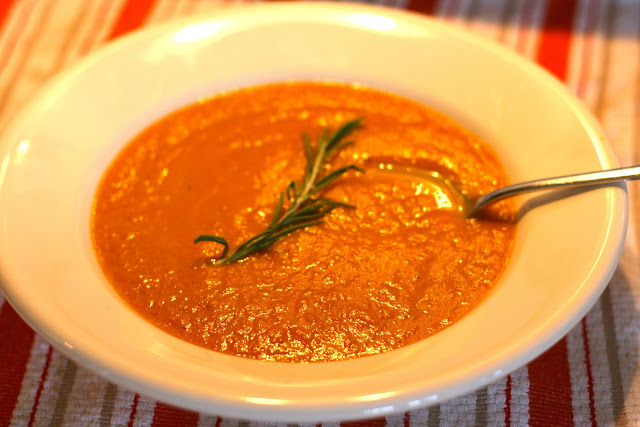 Carrot Chickpea Soup