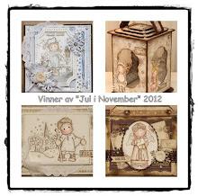 Vinner av jul i november 2012 hos Papirdokkene