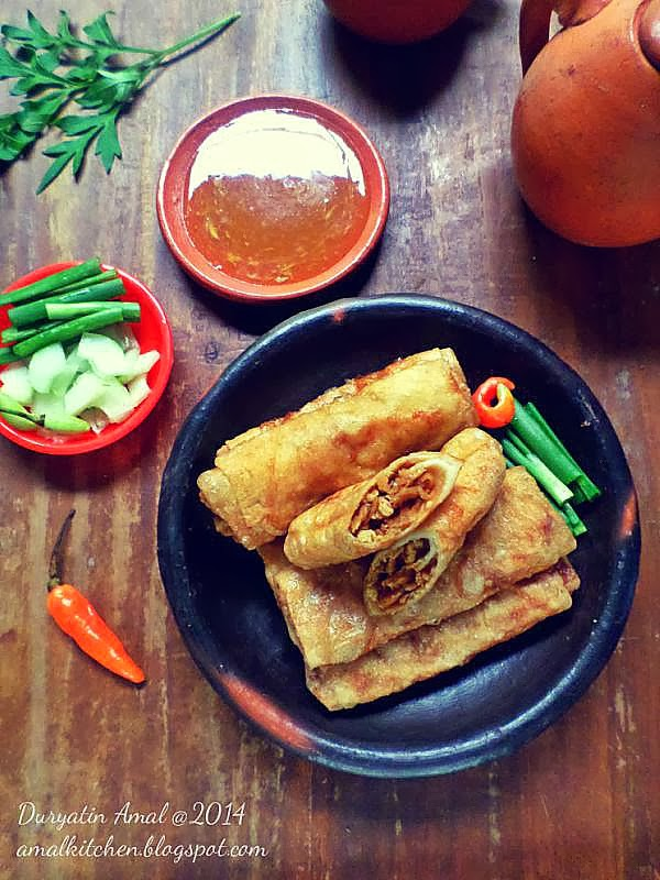 Amal's Kitchen : Simple & Easy Recipes: Lumpia Isi Rebung