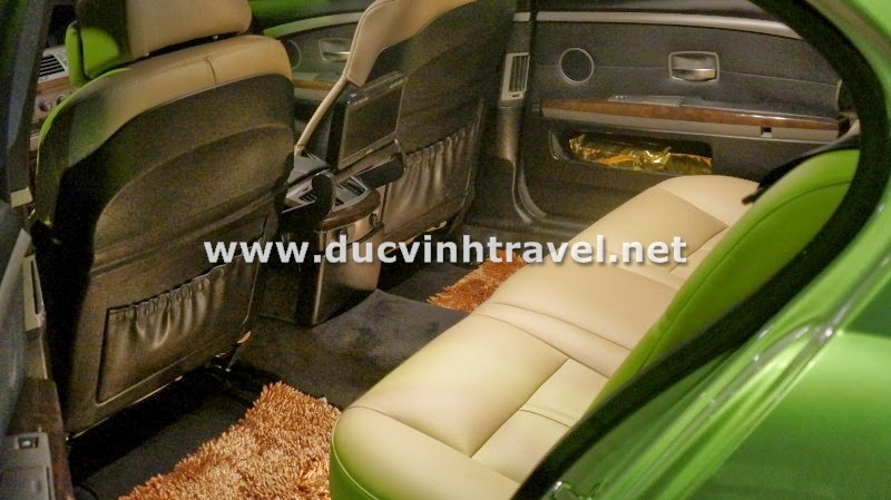 Cho thuê xe BMW 745Li Vip 3
