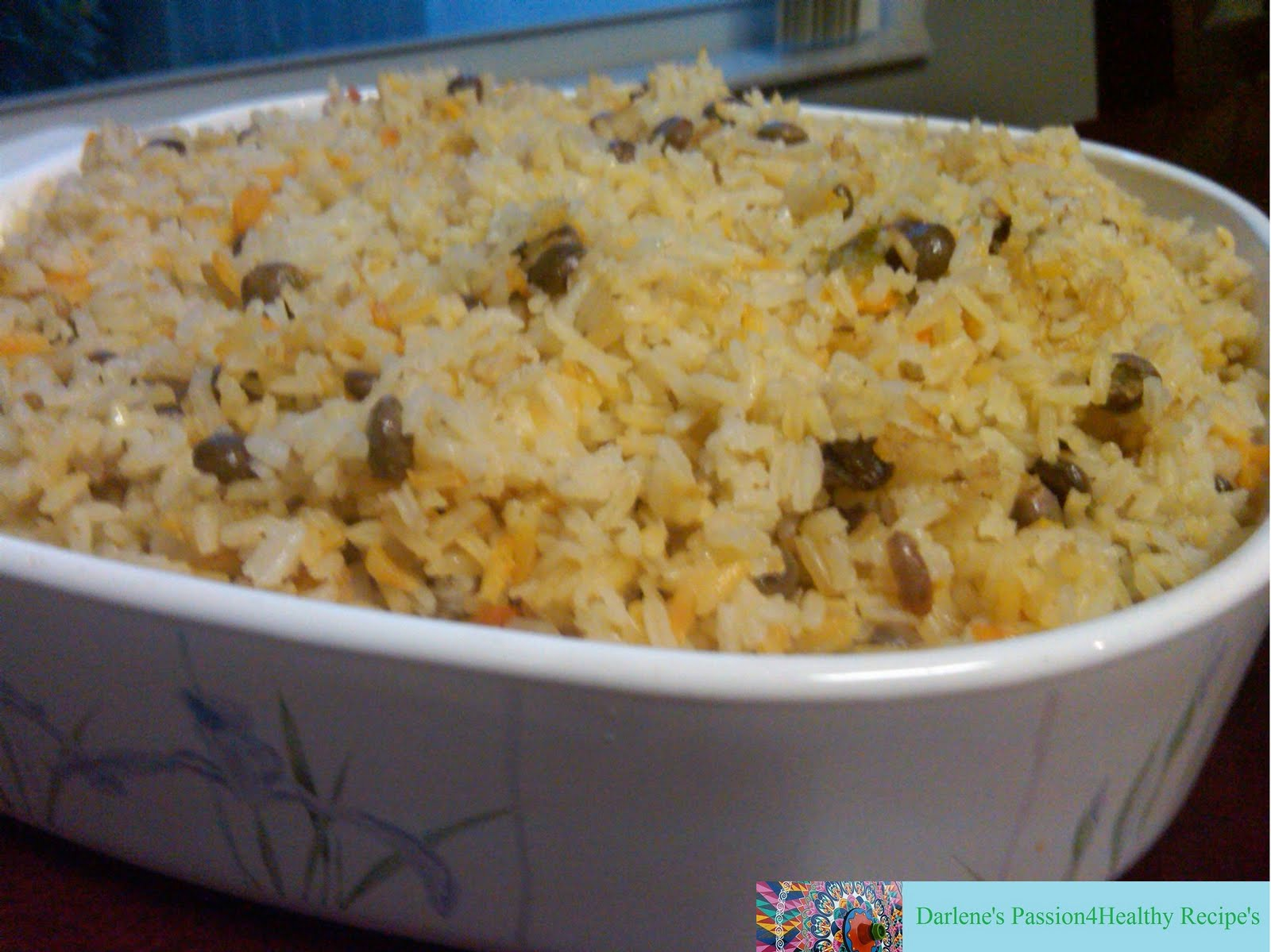 ... Recipes: Arroz integral con Gandules (Brown Rice and Pigeon Peas