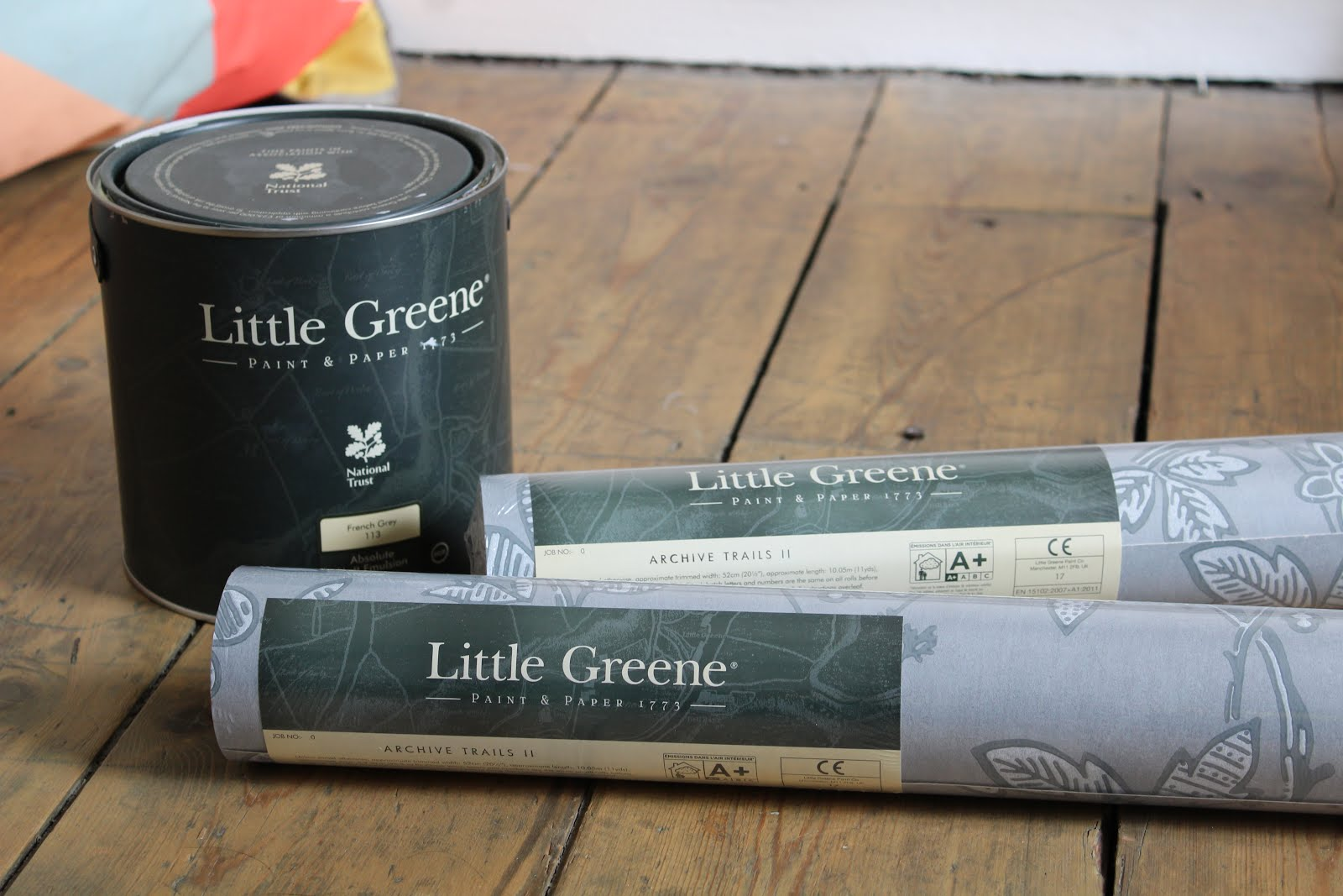 Little Greene Blogger Decorating