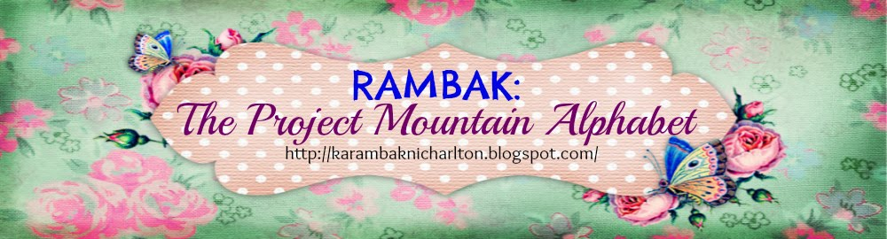 RAMBAK: THE PROJECT MOUNTAIN ALPHABET