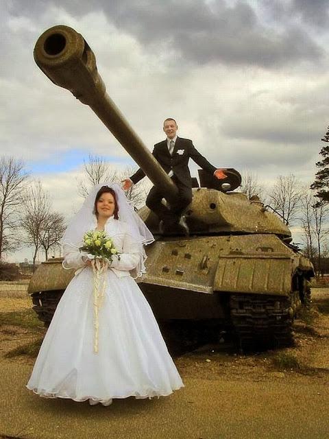 жених на танке