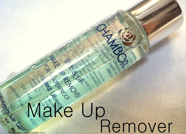 chambor eye lip makeup remover