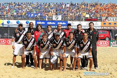 Time Campeão Mundial de Futebol de Areia 2011!!!