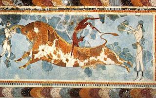 Bull leaping Crete