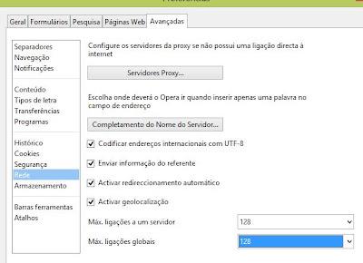 como acelerar o navegador Opera