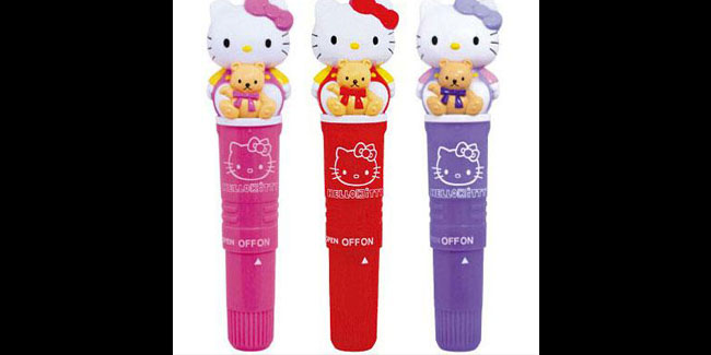 Vibrator Bentuk Hello Kitty