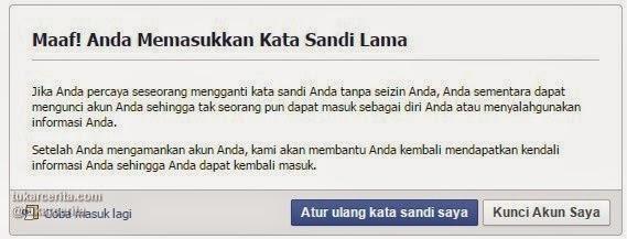 Kunci Akun Facebook Anda