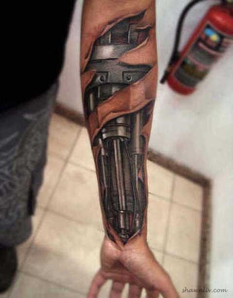 Amazing 3D Tattoo Art's (5 Pics)
