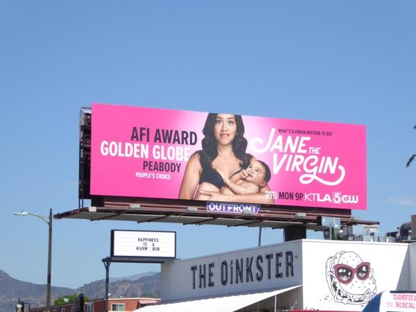 Jane The Virgin season 2 billboard