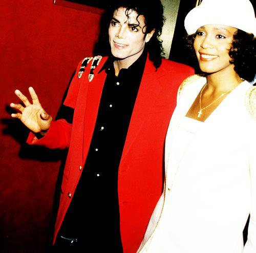 Whitney and Michael Adored Each OtherWhitney Houston And Michael Jackson Kissing