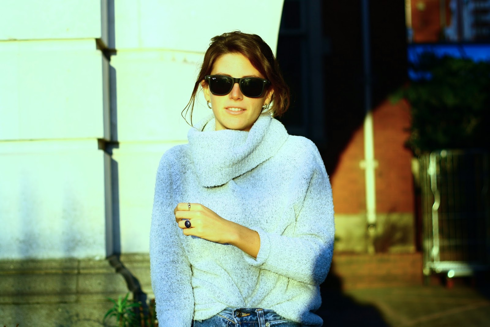 Vintage high street fashion blogger