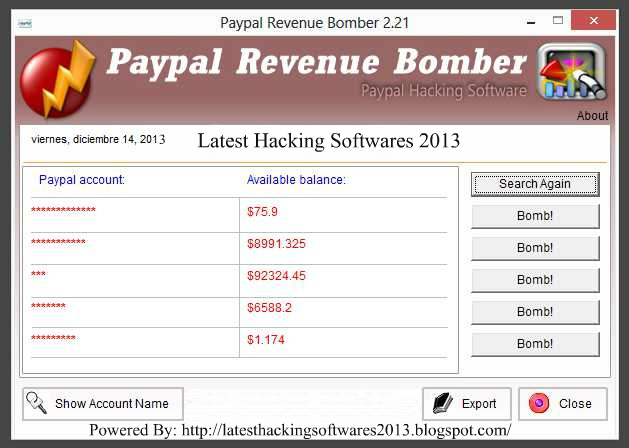 how to hack paypal and add money
