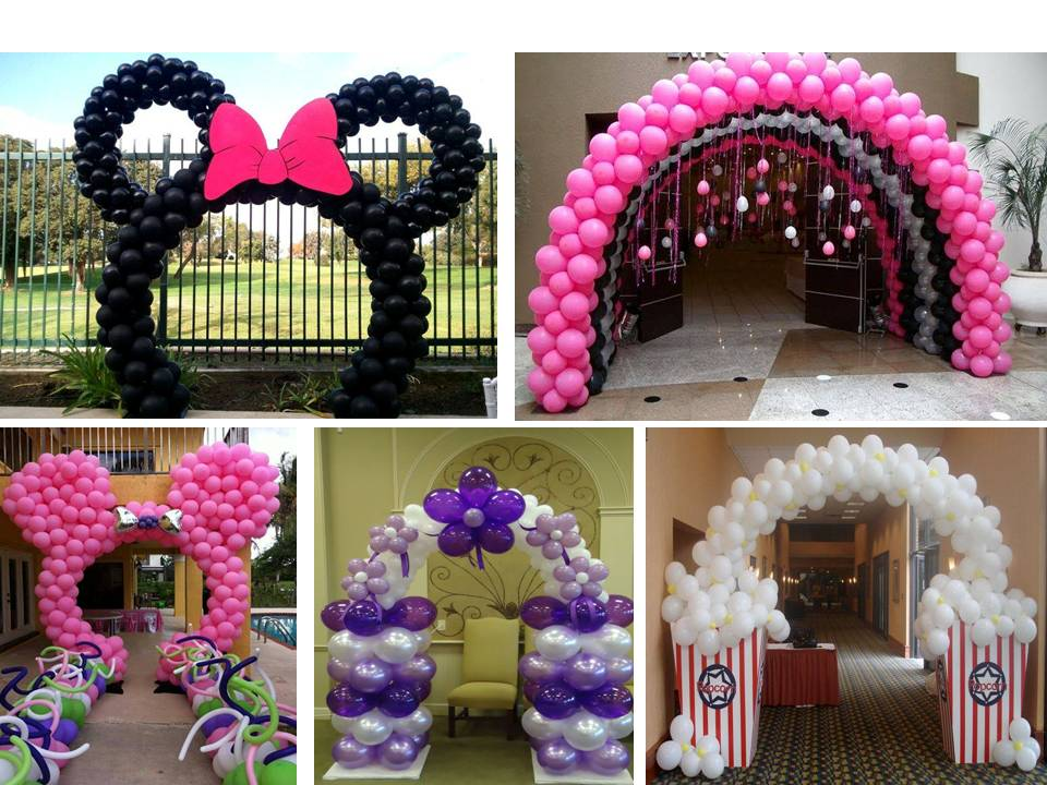 Home decor how to make a balloon arch for your party for How to make balloon arch at home