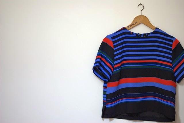 Camisa Rayas Zara