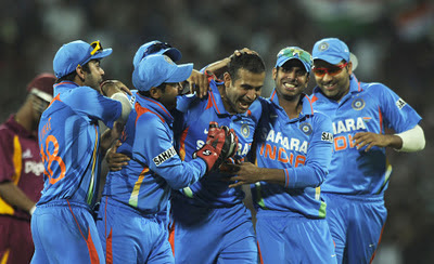 Irfan Pathan celebration