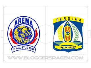 Pertandingan Arema vs Persiba Balikpapan