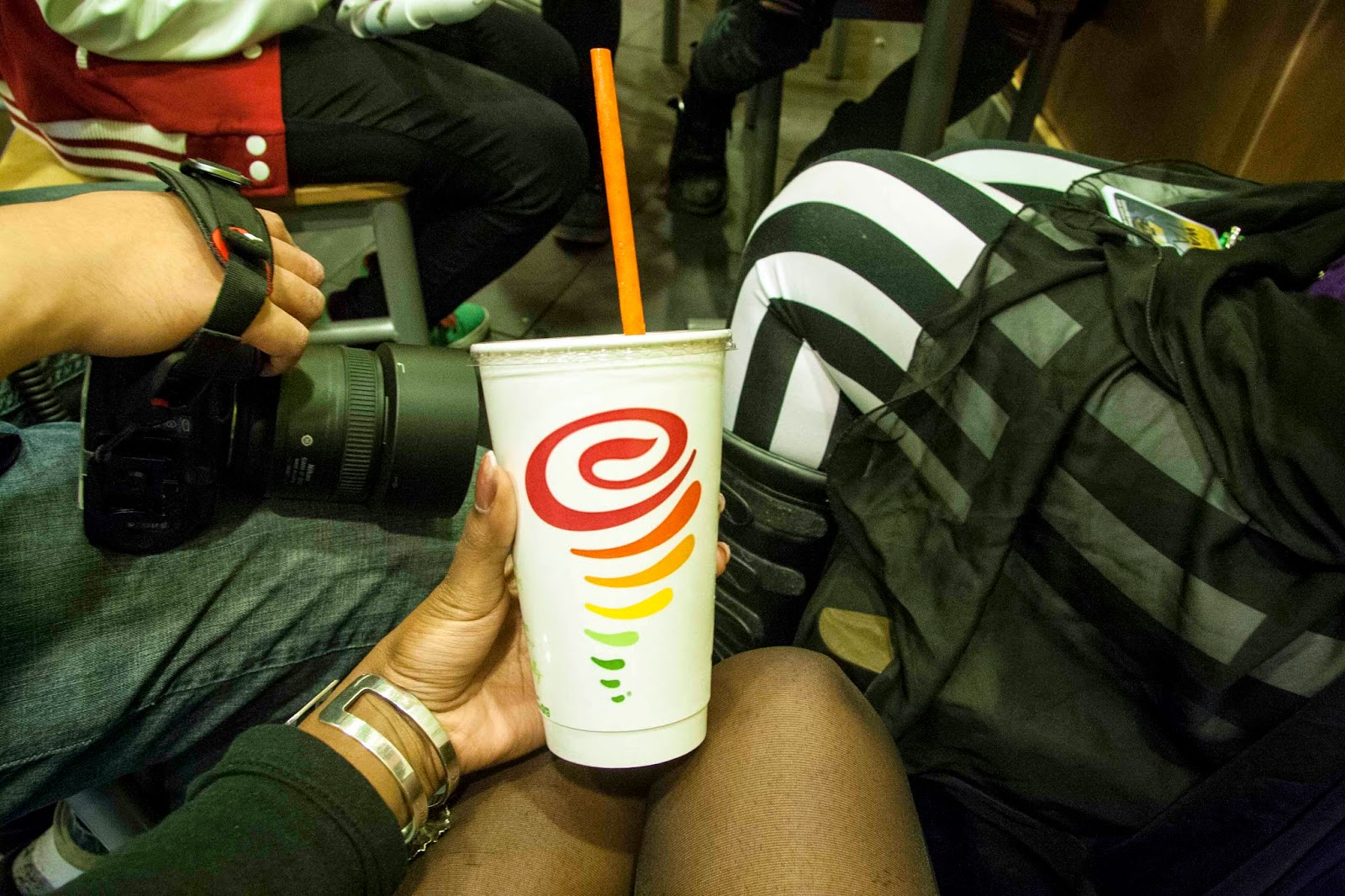 Jamba Juice, one of my faves