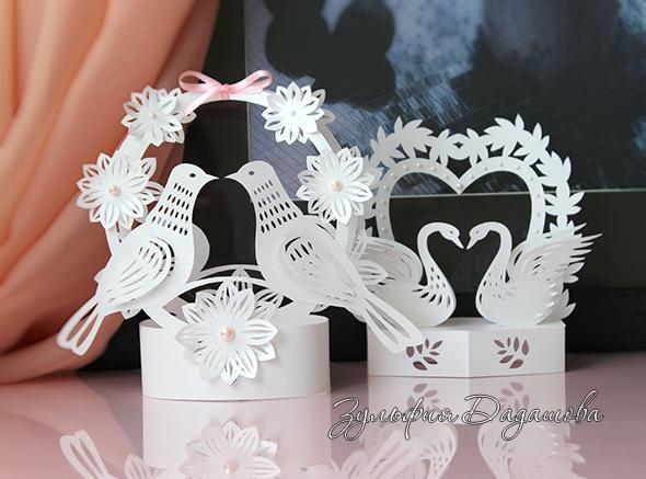 Поделки из бумаги на свадьбу поделки
