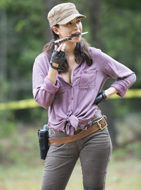 Esintiler Ve Anlar The Walking Dead Kamera Arkası 9