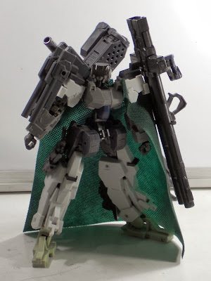 Kotobukiya Frame Arms Architect Frame with some add-ons, and the Grave Arms Weapons system