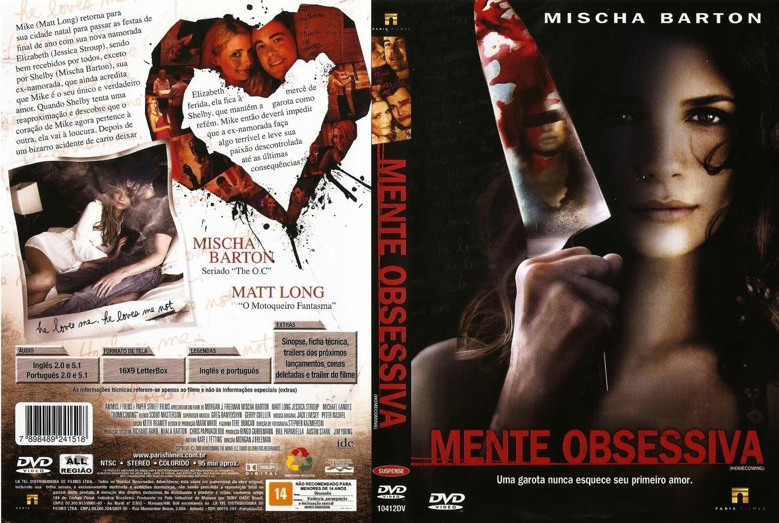 Mente Obsessiva DVD Capa