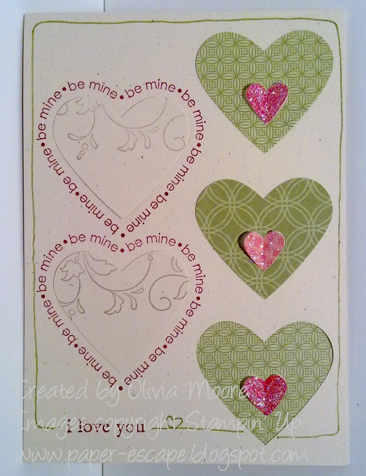 Paper Escape ~ Olivia Moore: StampinUp! Demonstrator Australia: Happy An...