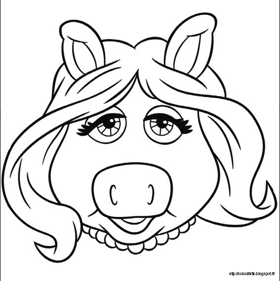 Muppet Show Coloring Pages