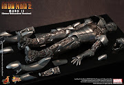 Hot Toys Movie Masterpiece Series Iron Man Mark IIArmor Unleashed Version .