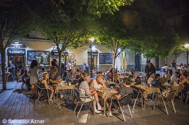 Fot grafo de viajes salvador aznar callejeando por madrid for Terrazas nocturnas madrid