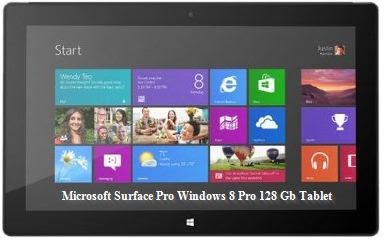 Microsoft Surface Pro Windows 8 Pro 128 Gb Tablet