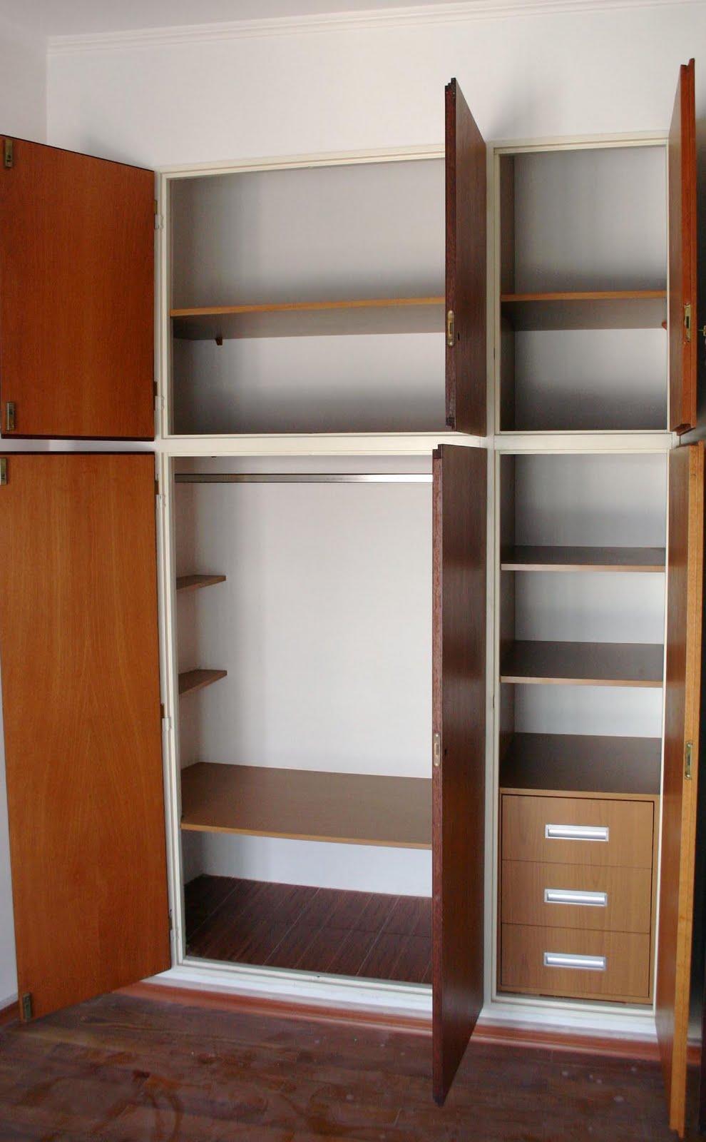 Parte de la solucion interiores de placard for Interiores de placard