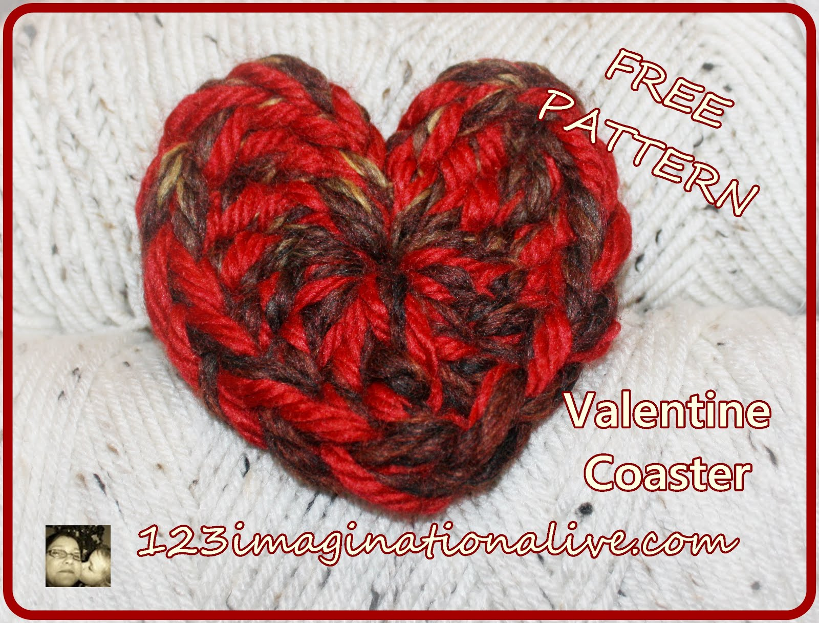 Valentine's Day Coaster