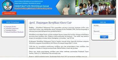 sk tunjangan profesi 2013