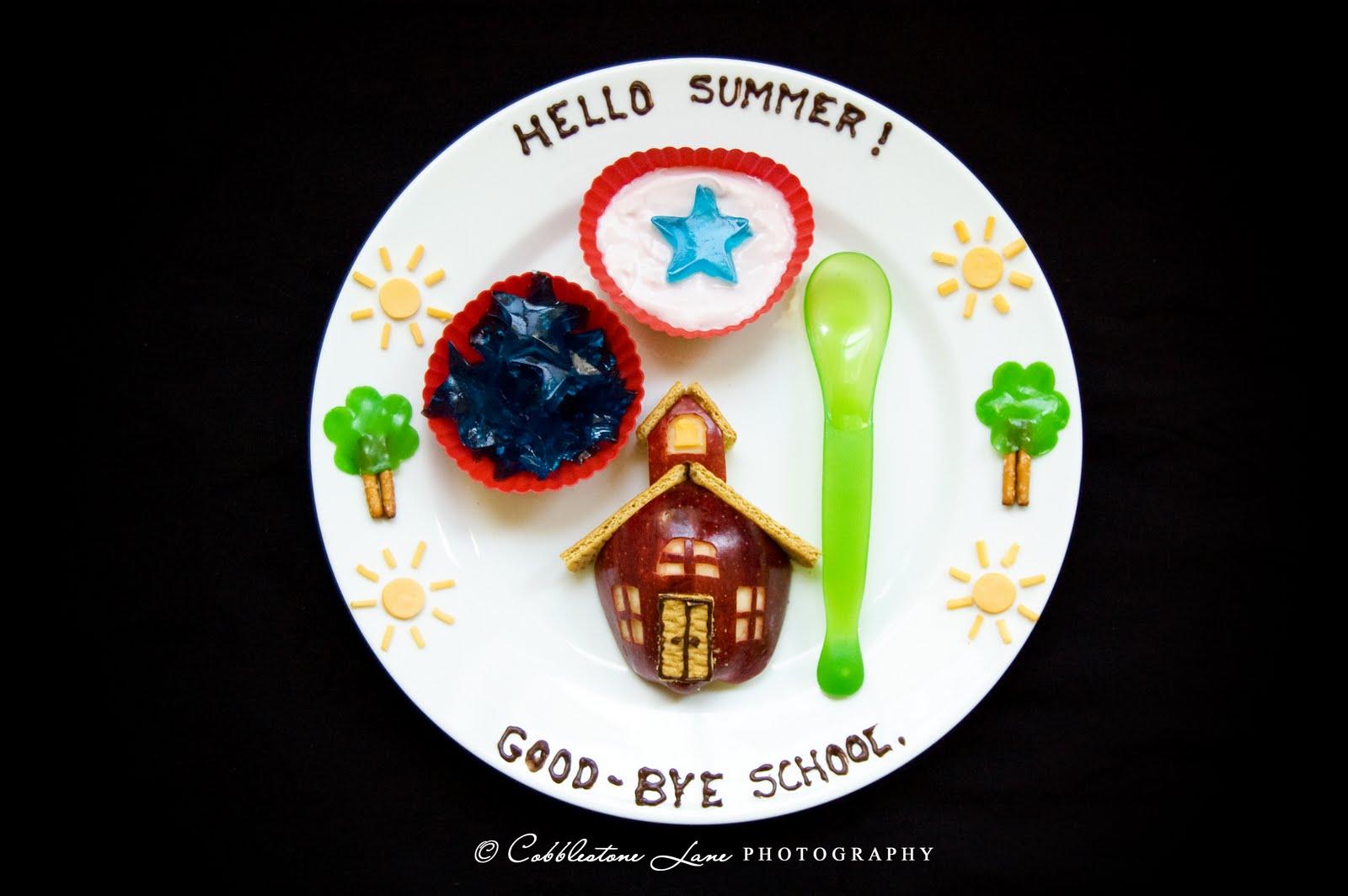 Hello Summer! Good Bye School.
