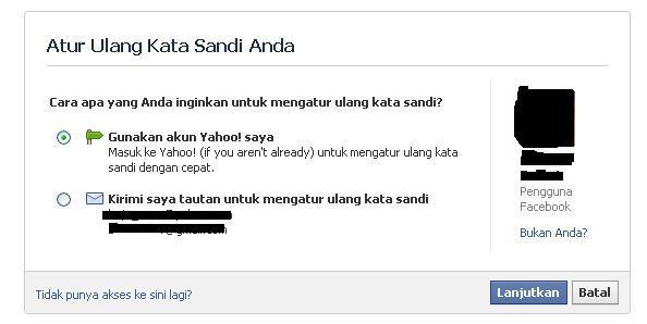 Cara Membajak Facebook