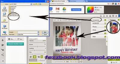 Cara Mengirim Kartu Ulang Tahun Cntik Ke Teman Facebook