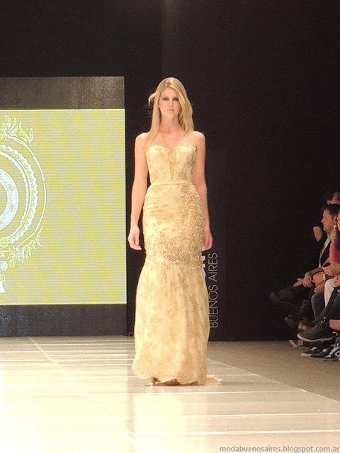 Claudio Cosano primavera verano 2014 vestidos.