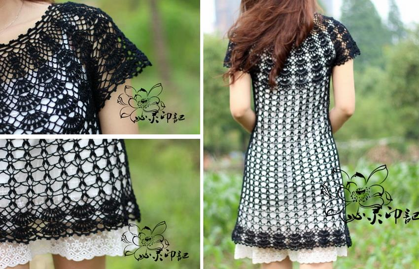 Free Crochet Pattern Tunic Vest : Crochet Sweaters: Crochet Tunic Pattern - Beautiful Simple ...
