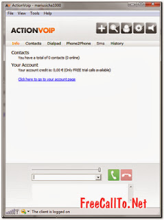 ActionVoip Software For PC